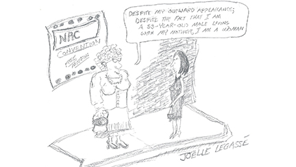 political cartoon, NAC Grapples With Definition, on July 08, 2003