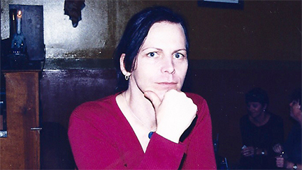 Caleigh Fisher at the Houch, Toronto, February, 2000