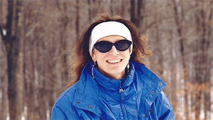 Jennifer Pallister; Ellicottville, New York, February 8, 2000
